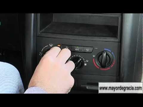 Para que sirven los botones del aire acondicionado del auto