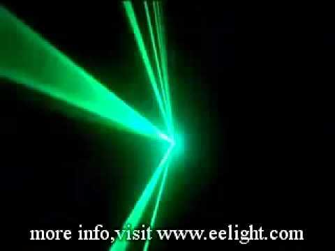 NEW 330mw RGB  Laser Show System  DMX512 auto mode.flv
