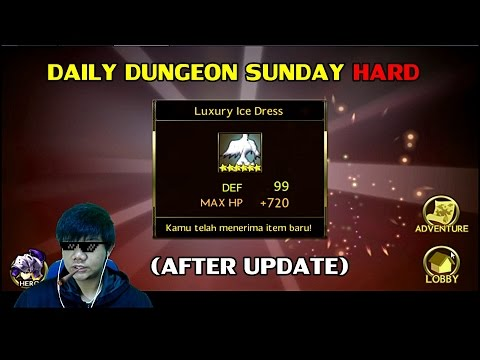 Seven Knights Asia/Global - Daily Dungeon Sunday (HARD)