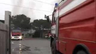 San Paolo d'Argon, incendio bonduelle