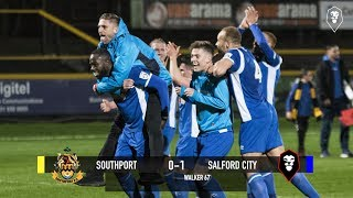 Southport 0-1 Salford City - National League North 17/04