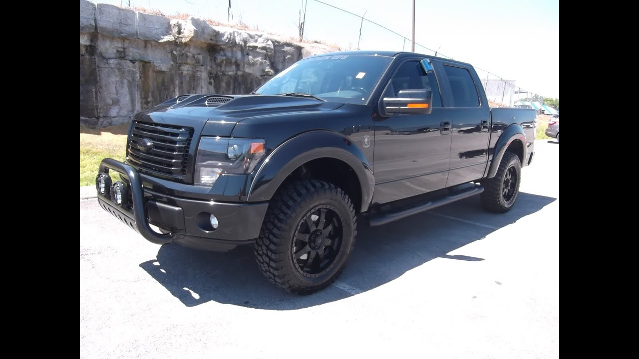 "2013 FORD F-150 BLACK OPS 2"" LEVEL BY TUSCANY FX4 AT FORD OF"