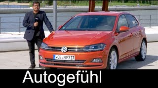 Volkswagen Polo FULL REVIEW Mk6 2018 driving test all-new VW Polo neu - Autogefühl