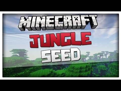 Minecraft 1.8 - Jungle at spawn seed WITH 5 JUNGLE TEMPLES (For minecraft 1.8 an