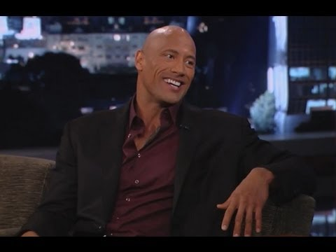 Dwayne Johnson on Jimmy Kimmel Live PART 1