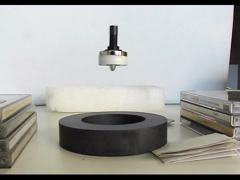 LEVITRON spinning top magnetic levitation