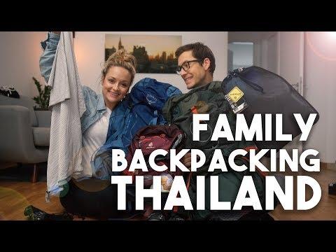 BACKPACKING Thailand I welchen RUCKSACK + Pacsafe & Handtücher I Mellis Blog