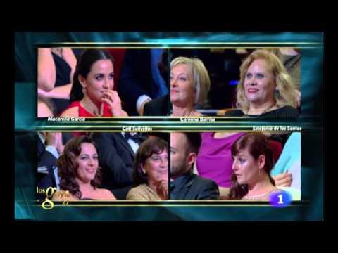 Macarena García gana el Goya a la Mejor Actriz Revelación en 2013