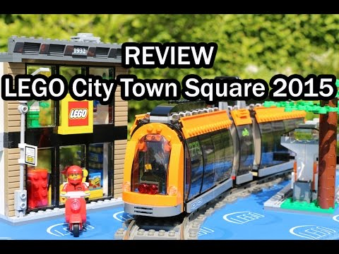 LEGO City Town Square 2015: REVIEW Set 60097