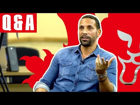 Rio Ferdinand's exclusive Q + A with England U16s | Inside Access