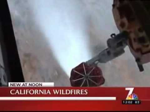NBC Coverage of 3rd MAW Helicopters assisting Cal Fire with Wildfires