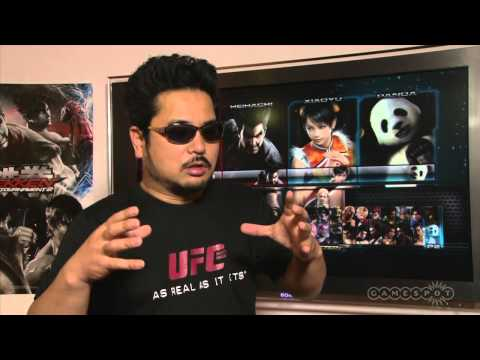 Tekken Tag Tournament 2 Interview with Katsuhiro Harada