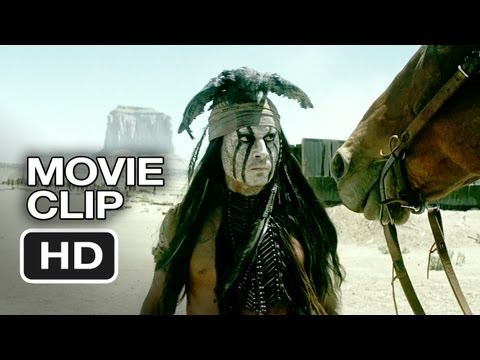 The Lone Ranger Movie CLIP - Arresting Tonto (2013) - Johnny Depp, Armie Hammer Western HD