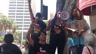 Revolution Club L.A. Protests Jeff Sessions + ICE Brutality (June 2018)