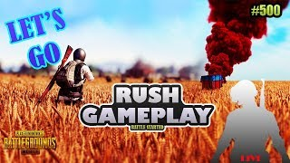 ROAD to 500 sub PUBG MOBILE #32 rush gameplay and drop loot ........VENOM GAMING VG