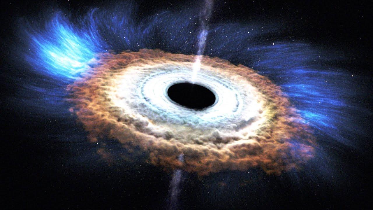 Lenyűgöző: így nyeli el a fekete lyuk a csillagokat - videó