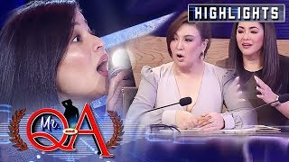 Anne gives Sharon and Regine vocalization tips | It's Showtime Mr. Q and A