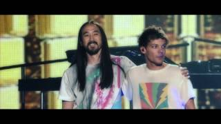 Steve Aoki amp Louis Tomlinson - Just Hold On Behind The Scenes