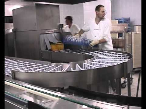 COMENDA COMMERCIAL DISHWASHERS: INSTALLATION WITH CAROUSEL MACHINE