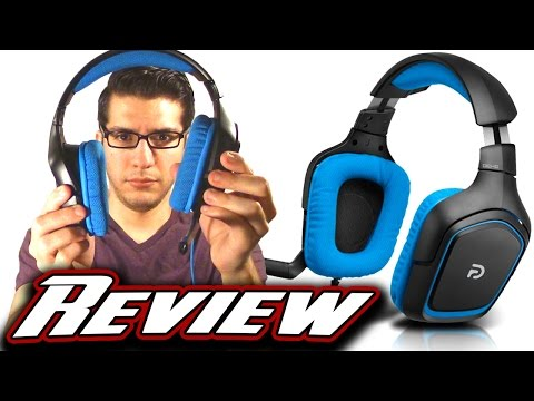LOGITECH G430 GAMING HEADSET REVIEW AND AUDIO TEST