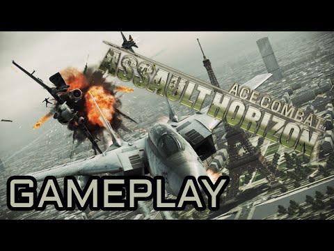 Gameplay Ace Combat: Assault Horizon [POLish][FULL-HD] - Powietrzna AKCJA!