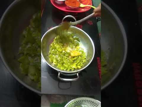 Special capsicum pachadi (pickle)