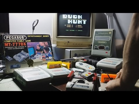 PEGASUS MT-777DX // Gramy W Stare Gry #3 // Test Pegasusa MT-777DX / Popeye , Duck Hunt , Kung Fu ,