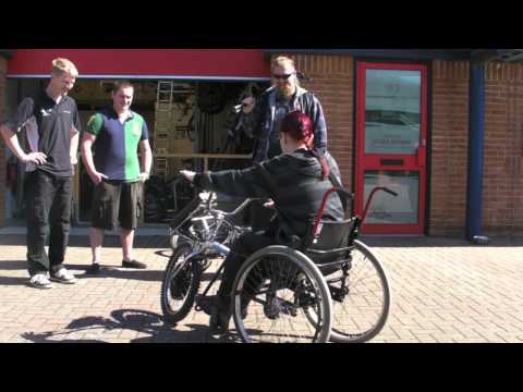 Team Hybrid Handcycles PDQ Power Trike Conversion