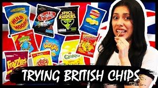 AMERICAN TRIES BRITISH SNACKS (CHIPS/CRISPS)