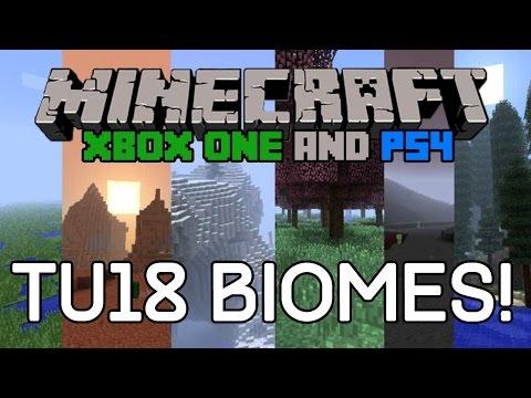 NO NEW BIOMES IN TU18/TU19 - Minecraft Xbox & Playstation Edition