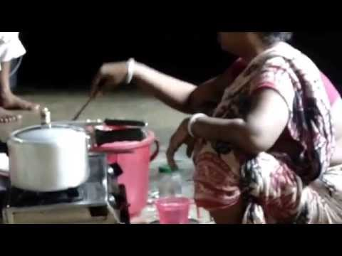 Mother Cooking  Lunch In Our Kitchen video