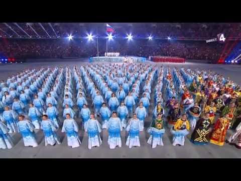 hymne Russe JO 2014 paralympique Sotchi Sochi Со́чи Россия гимн anthem  Russia Russian Olympic Games