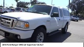 2010 Ford Ranger SIGNAL HILL LONG BEACH SEAL BEACH LAKEWOOD CARSON F4550M