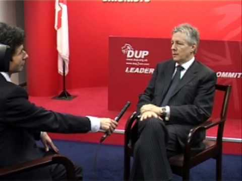 Peter Robinson speaks to BBC - 22nd January 2010