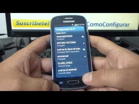 como configurar como modem el samsung galaxy Ace S5830 español Full HD