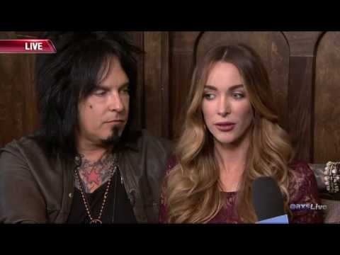 Nicki Sixx & Courtney Bingham Interview (Part 1) on AXS Live