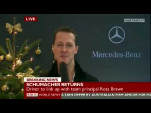 Michael Schumacher, Ross Brawn and McLaren team up for the F1 2010 season