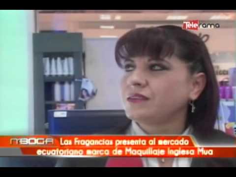Las fragancias presenta al mercado ecuatoriano marca de Maquillaje Inglesa Mua