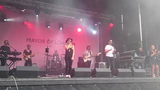 Pop London Live cover of the pointer sister I'm so excited at St George's Festival London 21/4/2018