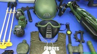 Box of Toys ! Military Toy Guns Toys - Compilation Military Gun Toys - Video for Kids