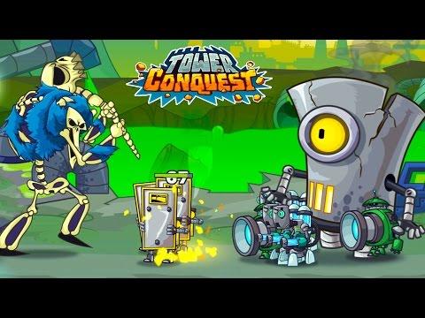 ЧТО ЭТО ЗА БОСС? Игровой Мультфильм для детей про БОИ и СРАЖЕНИЯ Tower Conquest #5