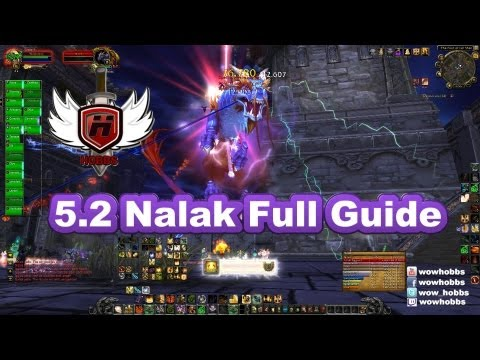 Nalak the Storm Lord Guide 5.2 with Hobbs- World of Warcraft WoW MoP Mists of Pandaria