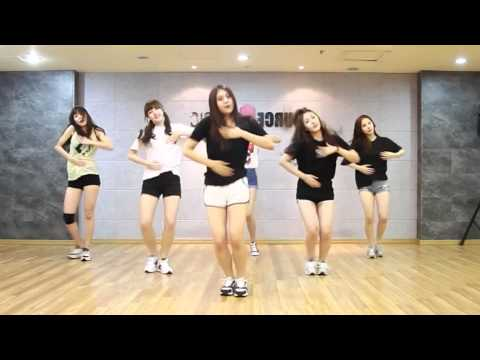 開始Youtube練舞:Me gustas tu-GFRIEND | 慢版教學