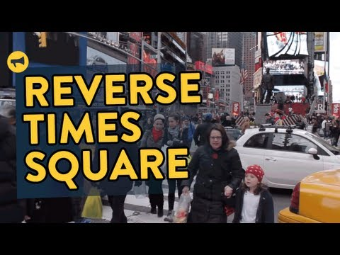 Reverse Times Square