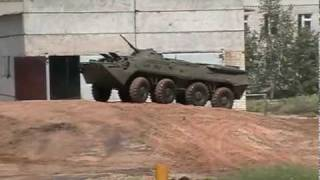 BTR-80/BTR-82 Armored Personnel Carrier - Factory Test Drive