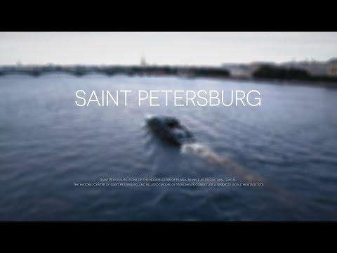 Saint Petersburg   Aerial & Timelapse in 4K