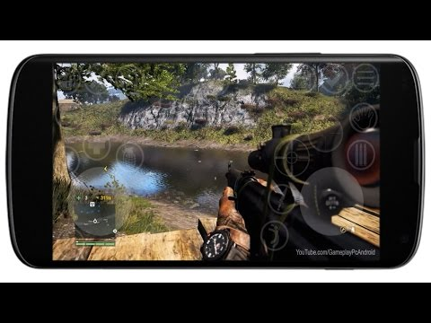Far Cry 1 on android - YouTube