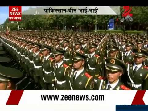 China's victory day parade: Should India worry?
