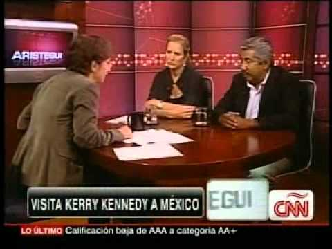 Aristegui Kerry Kennedy y Abel Barrera