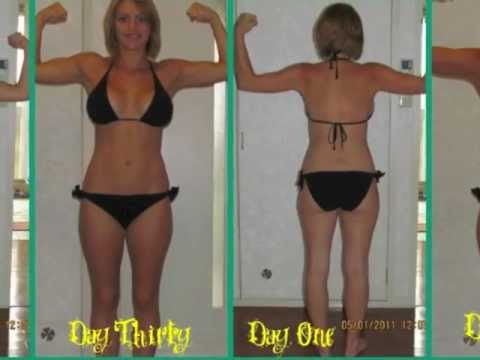 P90x Results Women Day 30 P90x 30 Day Tran